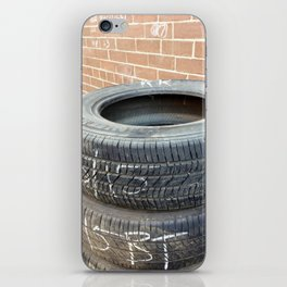 Used Tires iPhone Skin