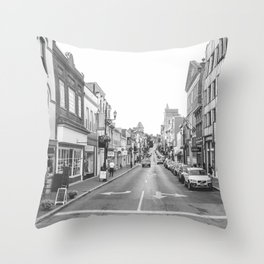 Downtown Staunton Throw Pillow