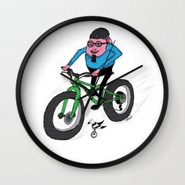 Hardboiled Greg rides! Wall Clock