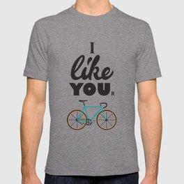 I like your bike T-shirt