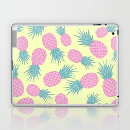 Pink pastel pineapple Laptop & iPad Skin