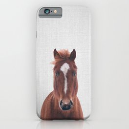 Horse II - Colorful iPhone Case