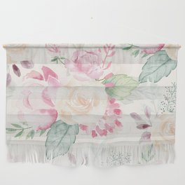 Romantic Floral Bouquet Wall Hanging