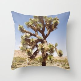 Joshua Tree (Color) Throw Pillow