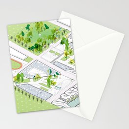 Never Land  Stationery Cards
