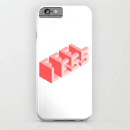 Times Are Tough iPhone Case
