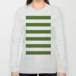 Simply Stripes in Jungle Green Long Sleeve T-shirt