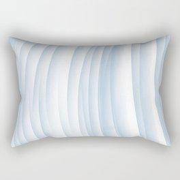 Fanned blue Rectangular Pillow