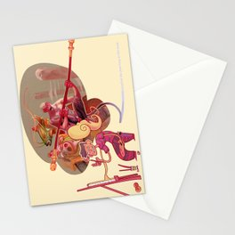 Imagine the journey to the west Stationery Cards