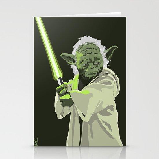 Yoda of Star Wars Stationery Cards