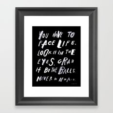 FACELIFE Framed Art Print