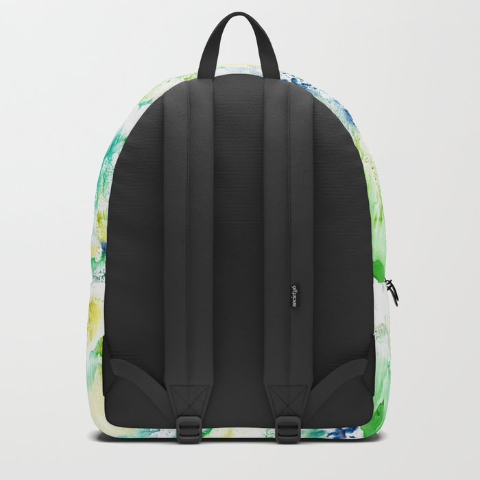 Drips of paint Backpack