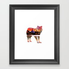 Pines of Wolf Framed Art Print
