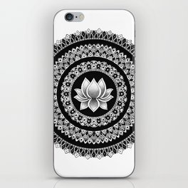 Lotus Mandala iPhone Skin
