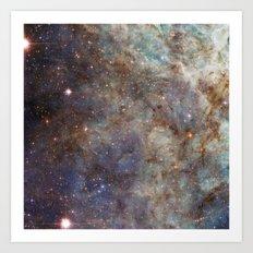 Tarantula Nebula Art Print