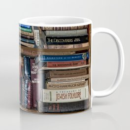 Books on a Shelf Coffee Mug