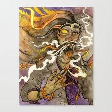 Smoke and Flame Canvas Print