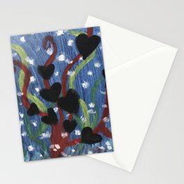 SeaHearts  Stationery Cards