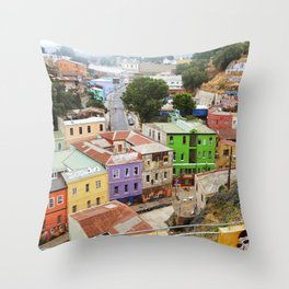 VALPARAISO II Throw Pillow