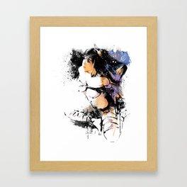 Shibari - Japanese BDSM Art Painting #7 Framed Art Print