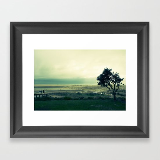 First Surf Framed Art Print