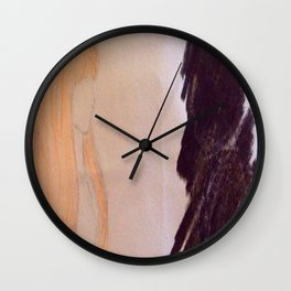 Shadow couple Wall Clock