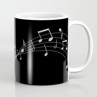 cello Mugs featuring My Cello by society6-BIG