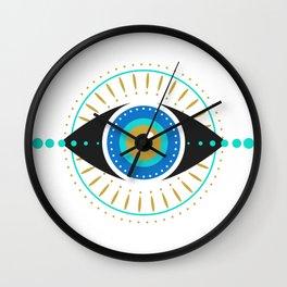 The Evil Eye Wall Clock
