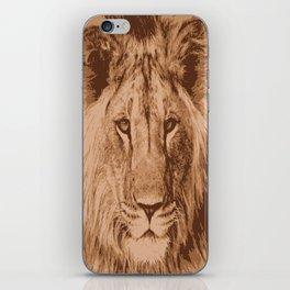 Lion iPhone Skin