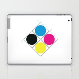 CMJN rounds Laptop & iPad Skin