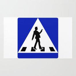 Try walking across the streetV2 Rug