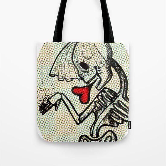 Skull Bride Tote Bag
