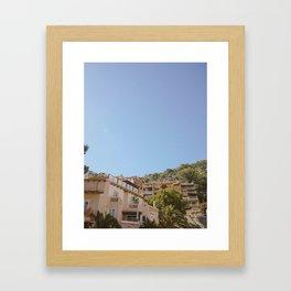 Cala Llamp Framed Art Print