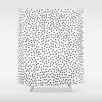 dots Shower Curtains featuring Dots.. by Priscila Peress