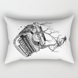 Magpie,  letterhief Rectangular Pillow