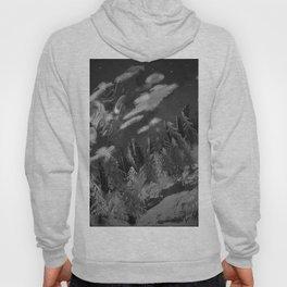 Winter mountain cabin Hoody