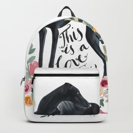 Black sighthound Backpack