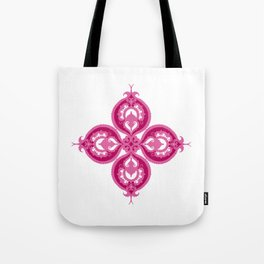 Indian Flower Tote Bag