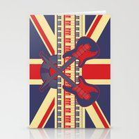 british Stationery Cards featuring British Rock by Ornaart