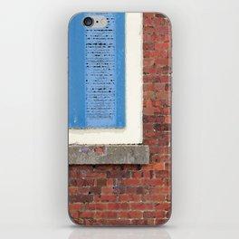Blue Shutters iPhone Skin