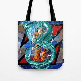 Dragon Ball Super Goku Super Saiyan Blue Tote Bag