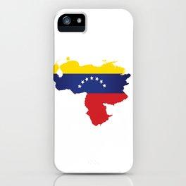 Venezuela - venezuelan heart - flag design iPhone Case