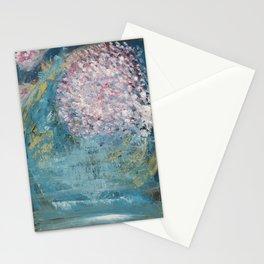 Cherry Blossom Falls Stationery Cards