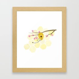 Sweet HoneyBee  Framed Art Print