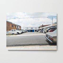 Parking lot Metal Print