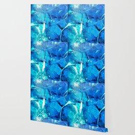 Crystal Blue Lights Wallpaper