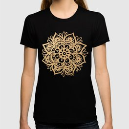 Gold Mandala T-shirt