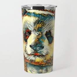 AnimalArt_Panda_20180101_by_JAMColors Travel Mug