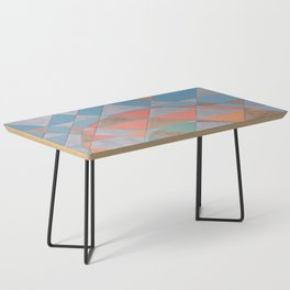 Circles and Triangles Coffee Table
