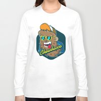 chewbacca Long Sleeve T-shirts featuring Chewbacca Hipster  by Redwane